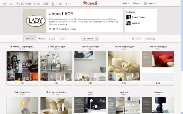 LADY ❤ Pinterest'