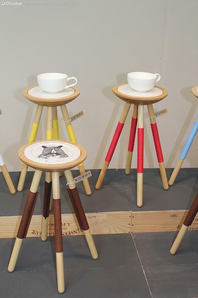 Norsk design og farger i London'
