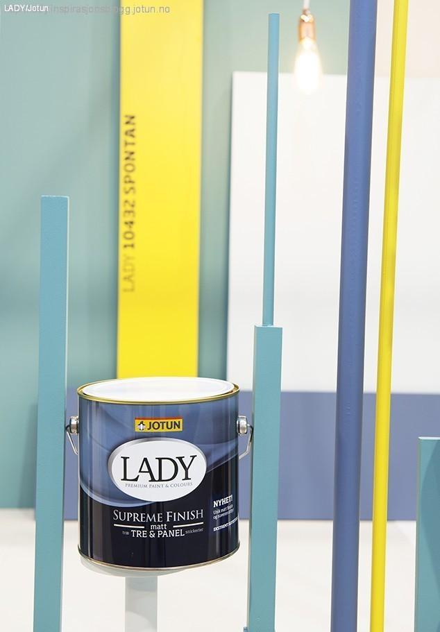 Gave og interiørmessen LADY matt maling