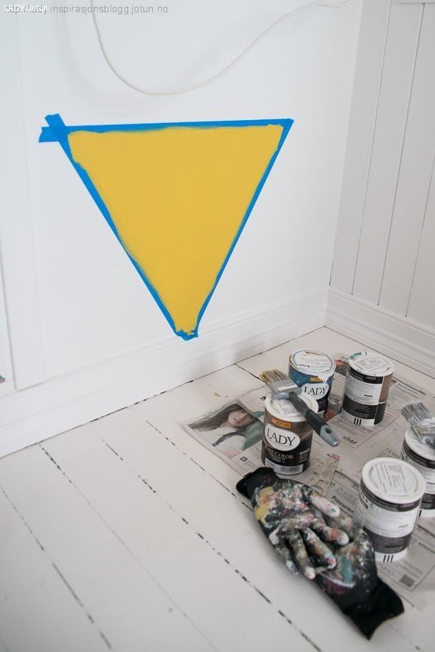 Geometrisk vegg trinn 2