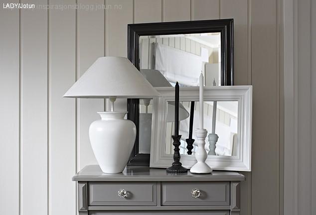 Male speil, lamper og hatter. Alt kan males LADY blogg