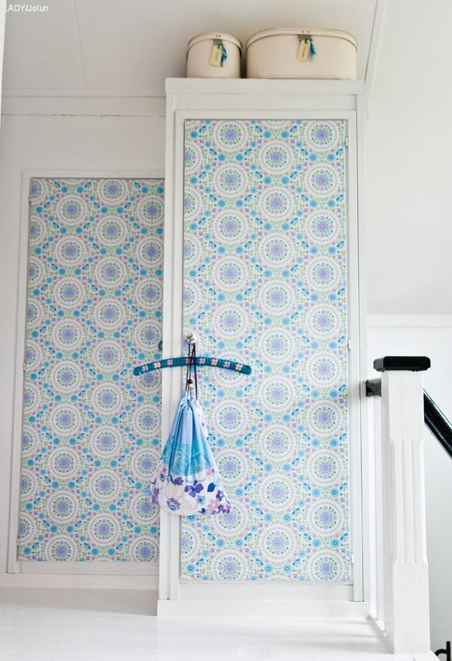 Stripete skapd rer med maling lady inspirasjonsblogg - Decorar puertas de armario ...