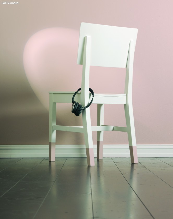 Hvordan male en stol, to stoler, tre stoler'