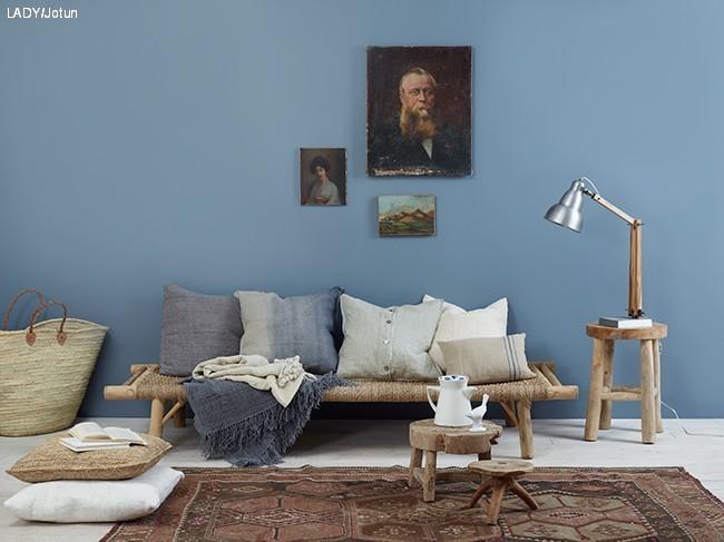 8e731fa4 Denn vil oppleves som behagelig og blå. Dette er nok en stor favoritt hos  meg. Den ultimate blåtone. Se den inntil både beige og grå farger.