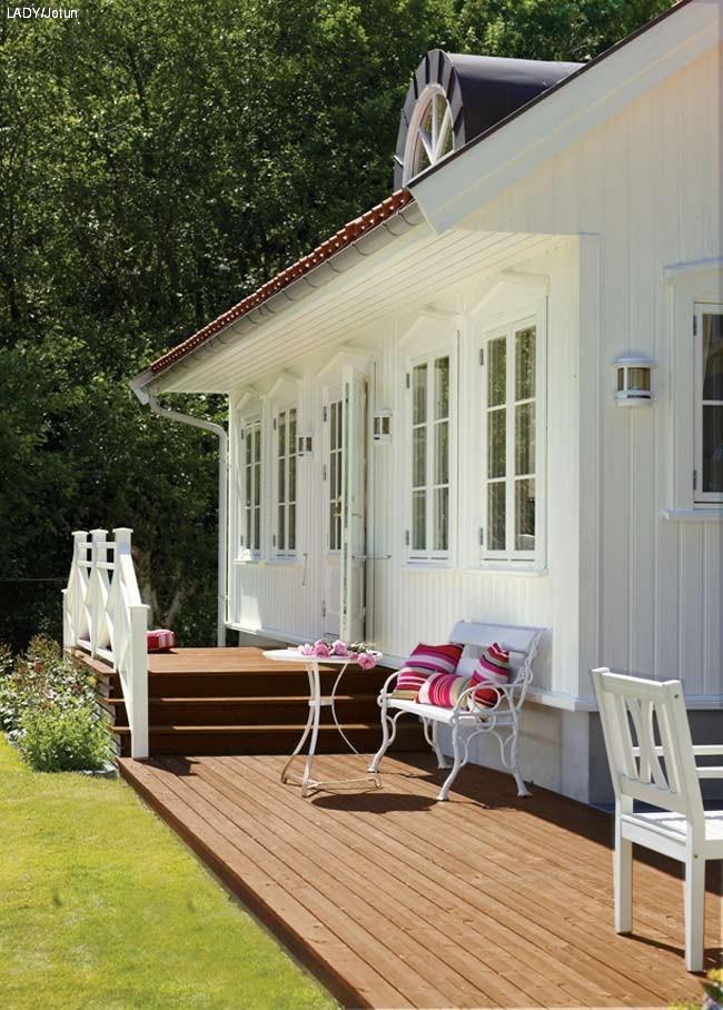 forskjell terasse veranda altan
