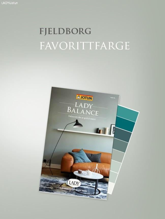 Fjeldborg's favorittfarge