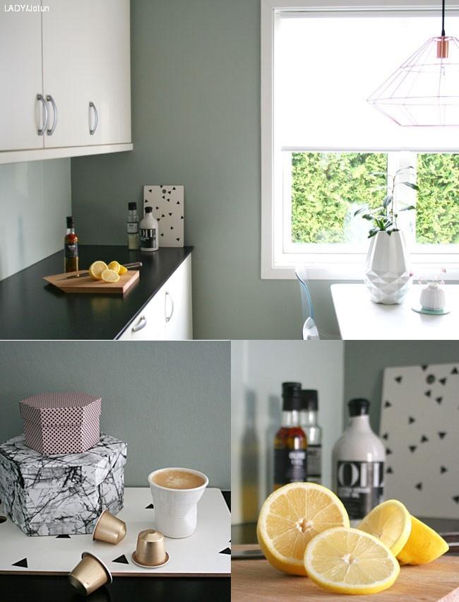 Den perfekte kjøkkenfarge