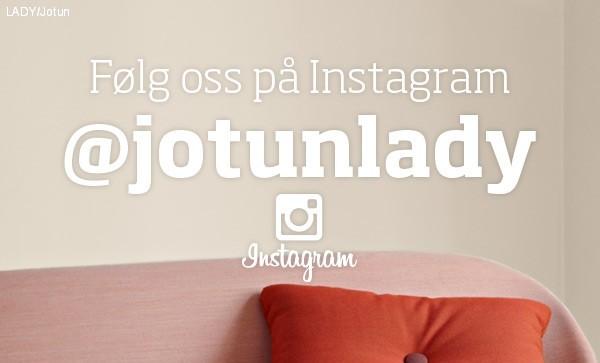Følg Jotun Lady på Instagram