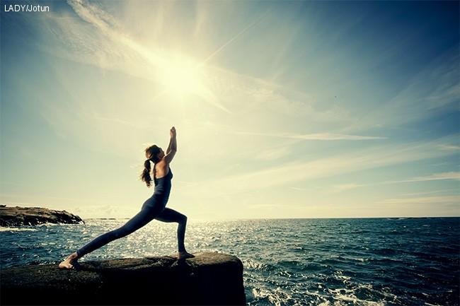 Yoga studio i balanse