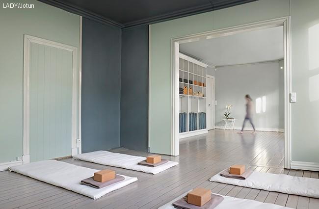 Perfekt farge for Yoga studioet
