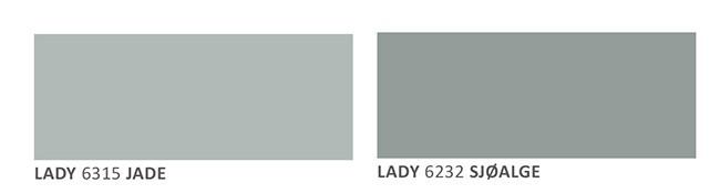 Farger til hytta