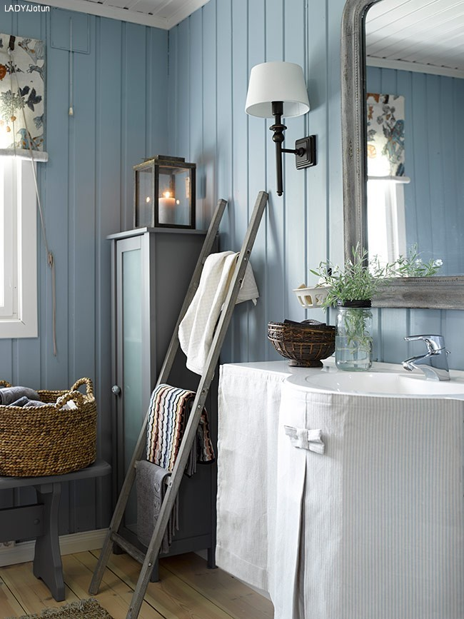Fine farger til hytta
