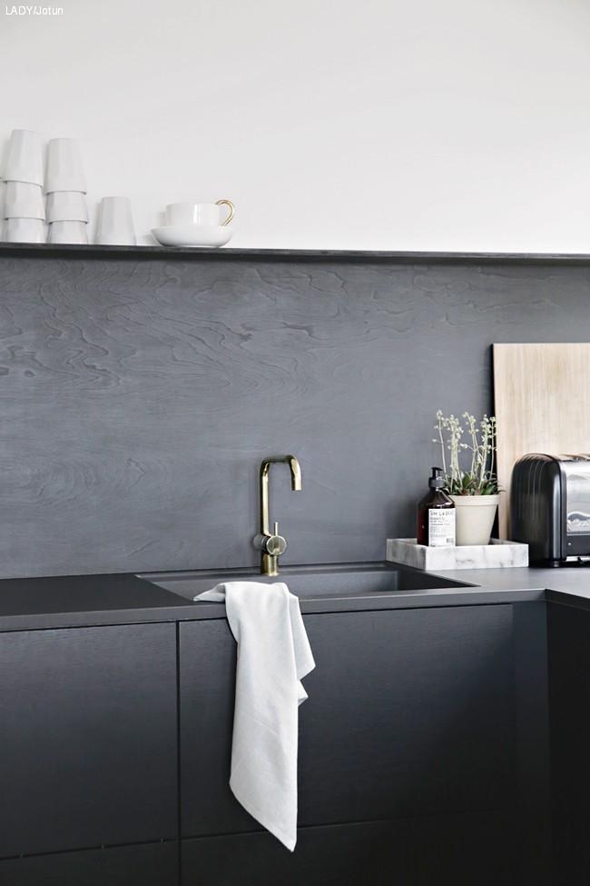Stilig over kjøkkenbenken