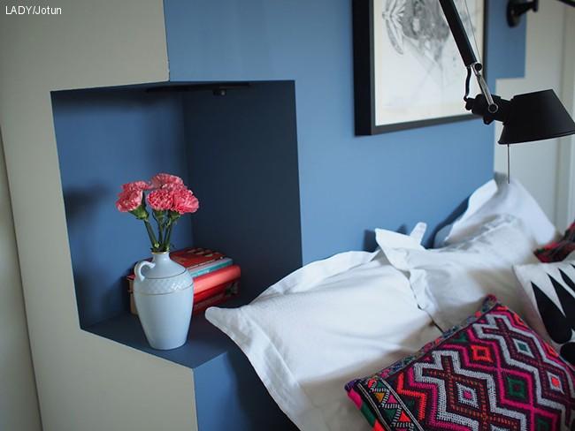 Jenny Skavlan sin favoritt blåfarge