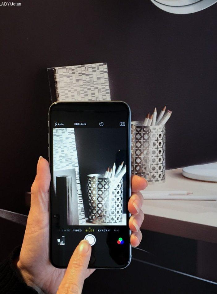 Ta gode interiørbilder med mobilen'