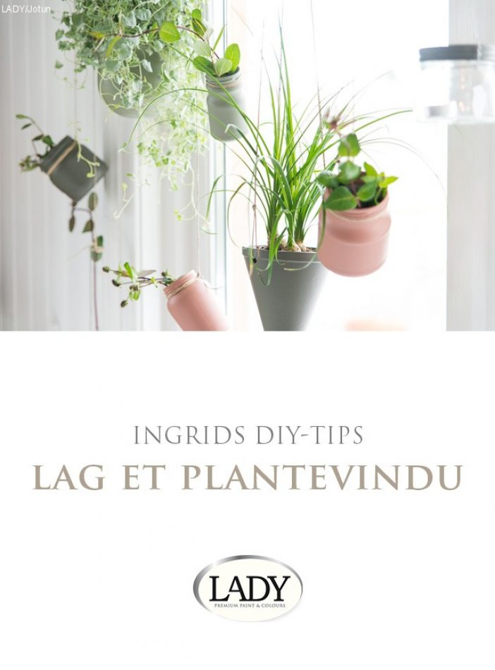 DIY-tips: Lag et plantevindu'