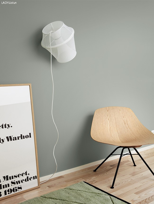Guide til riktig veggfarge - LADY Inspirasjonsblogg