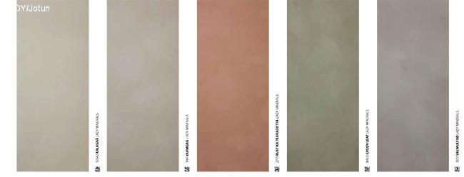 Duse farger med LADY MInerals Kalkmaling