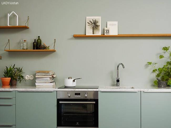Farger til kjøkkenet