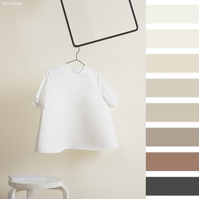 Vakre hvitfarger
