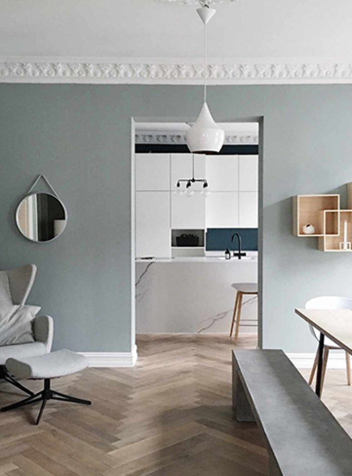 Perfekt palett hos Lene Orvik'