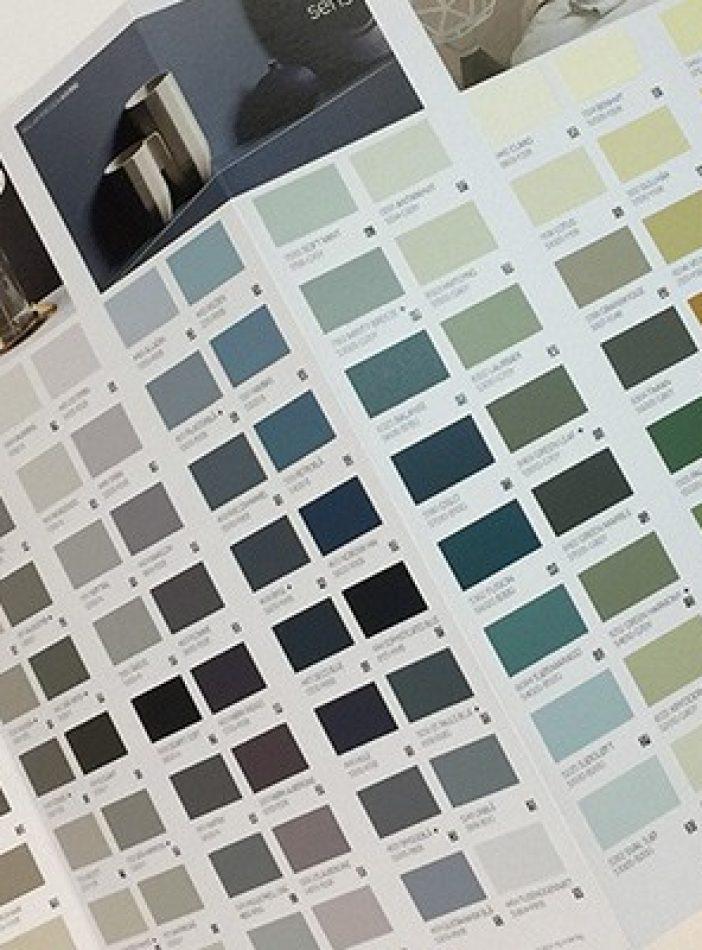 «Våre vakreste farger» i et eget fargekart'