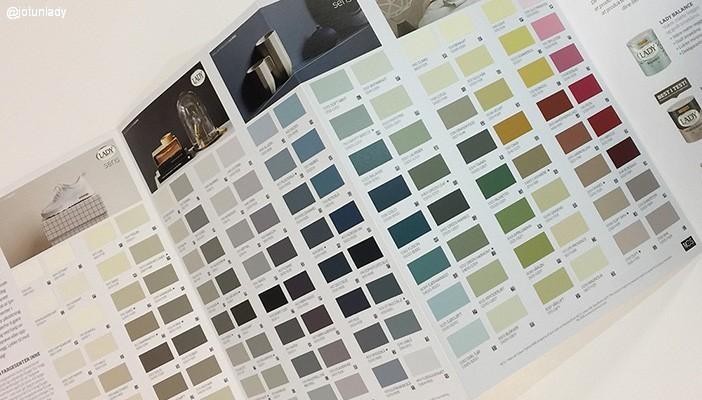 «Våre vakreste farger» i et eget fargekart
