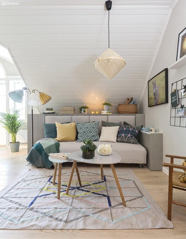 Ny loftsstue med ROM123