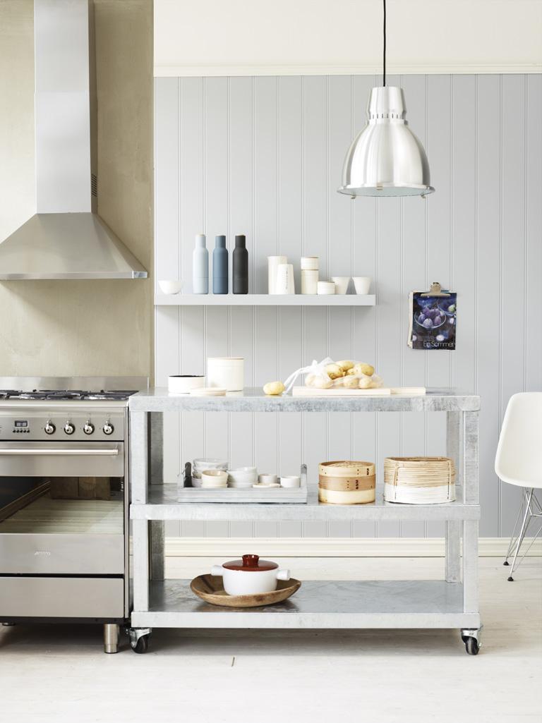 Panel på kjøkken