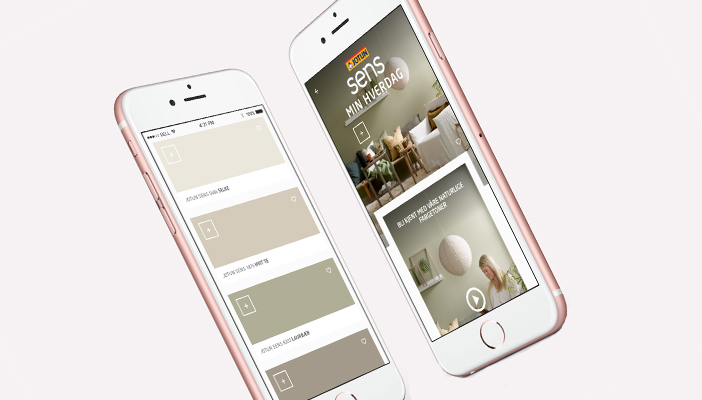 Nytt digitalt fargekart
