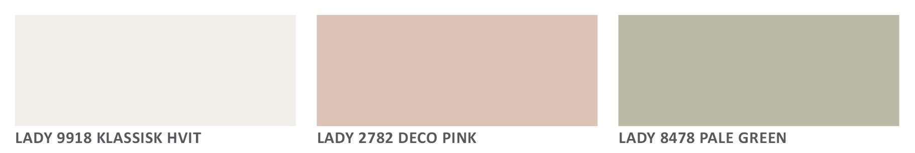 7 vakre fargekombinasjoner til badereommet