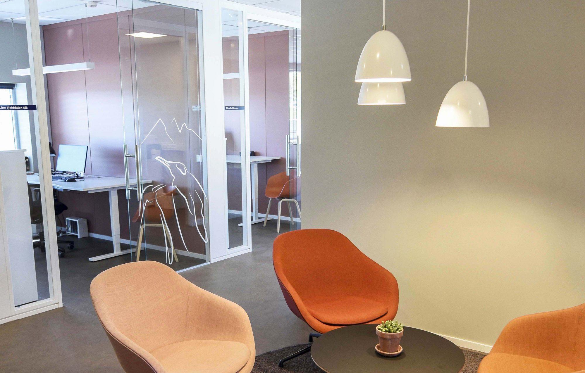 Se fargene i Jotuns nye lokaler!