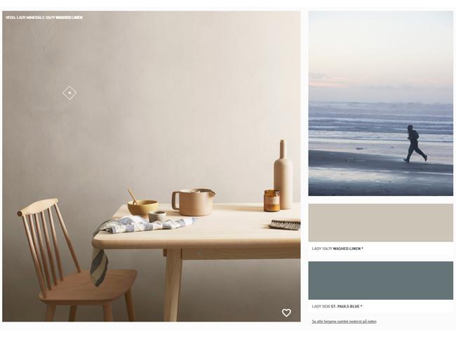 Utforsk våre digitale fargekart