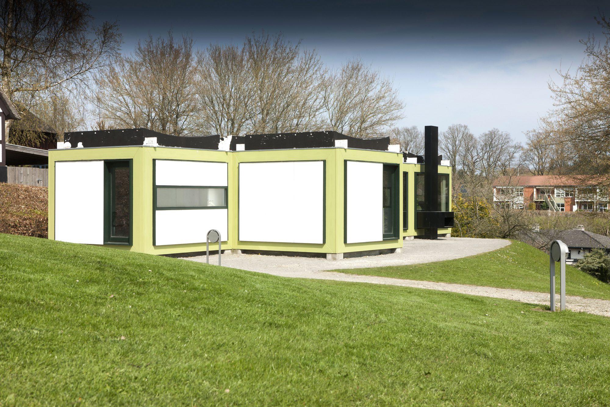 Se Arne Jacobsens sommerhus