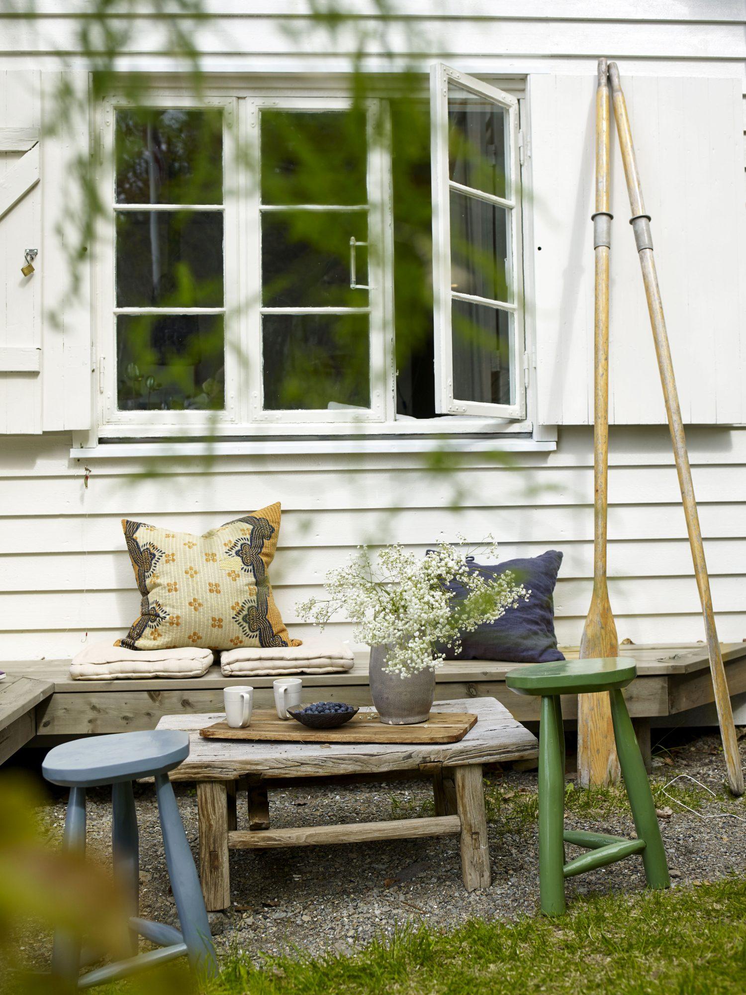 Jotun Lisbeth Larsen hytte på Nesodden