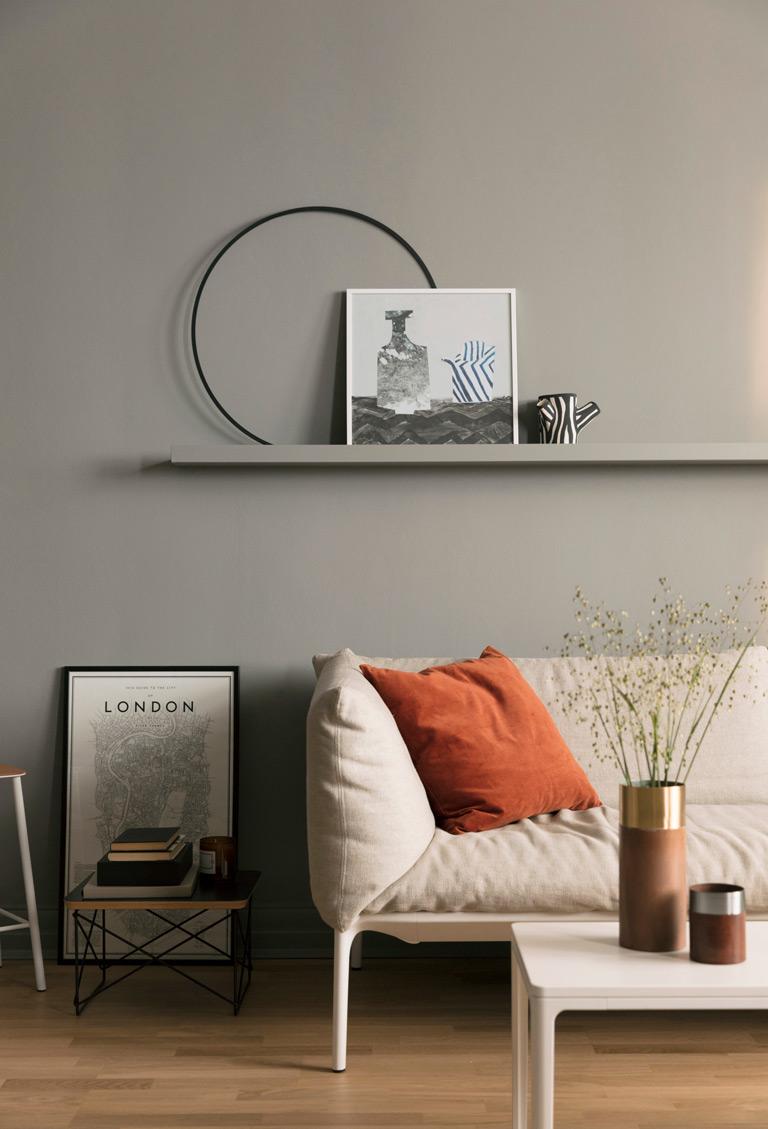 En leilighet tre stiler