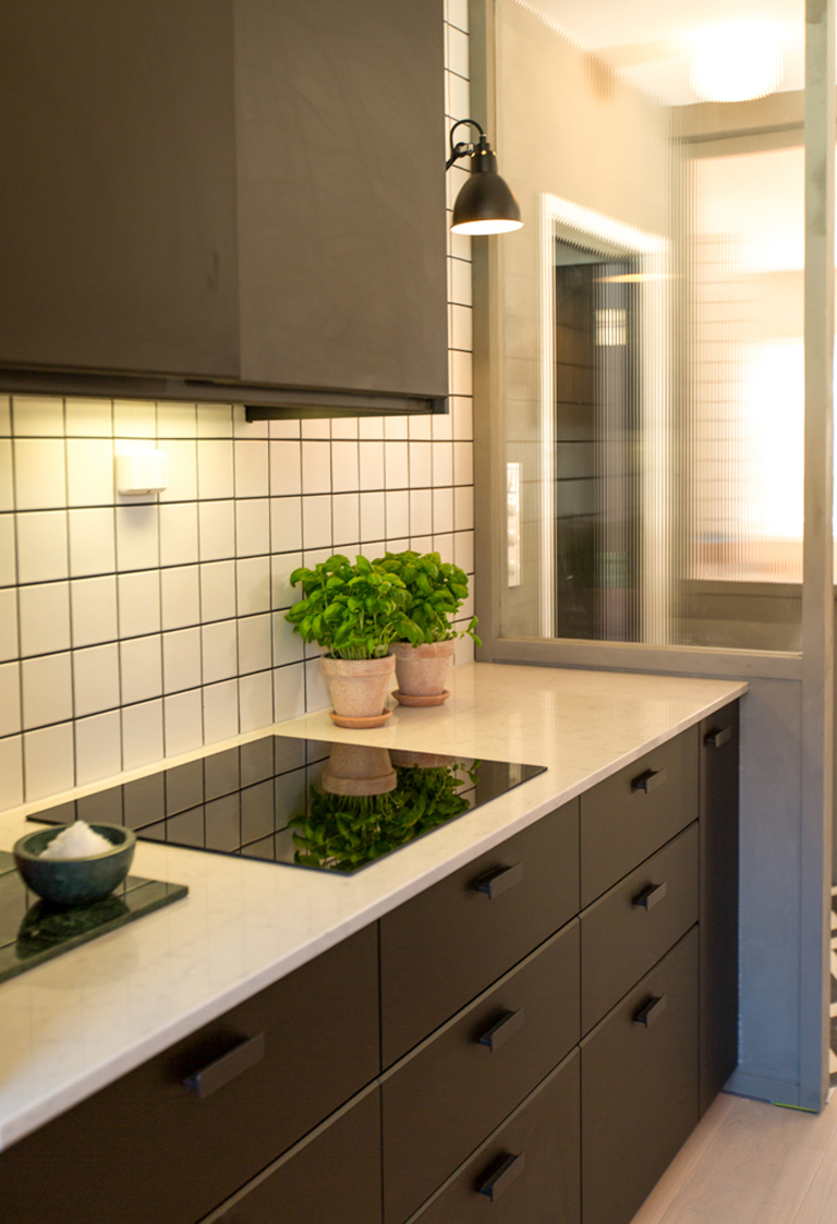 Tid for hjem oppgraderer kjøkkenet.