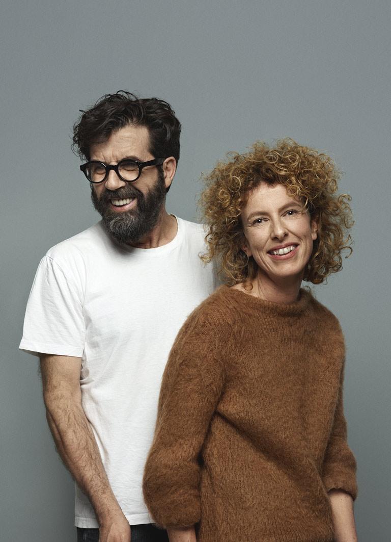 Jannicke Kråkvik og Alessandro D'Orazio