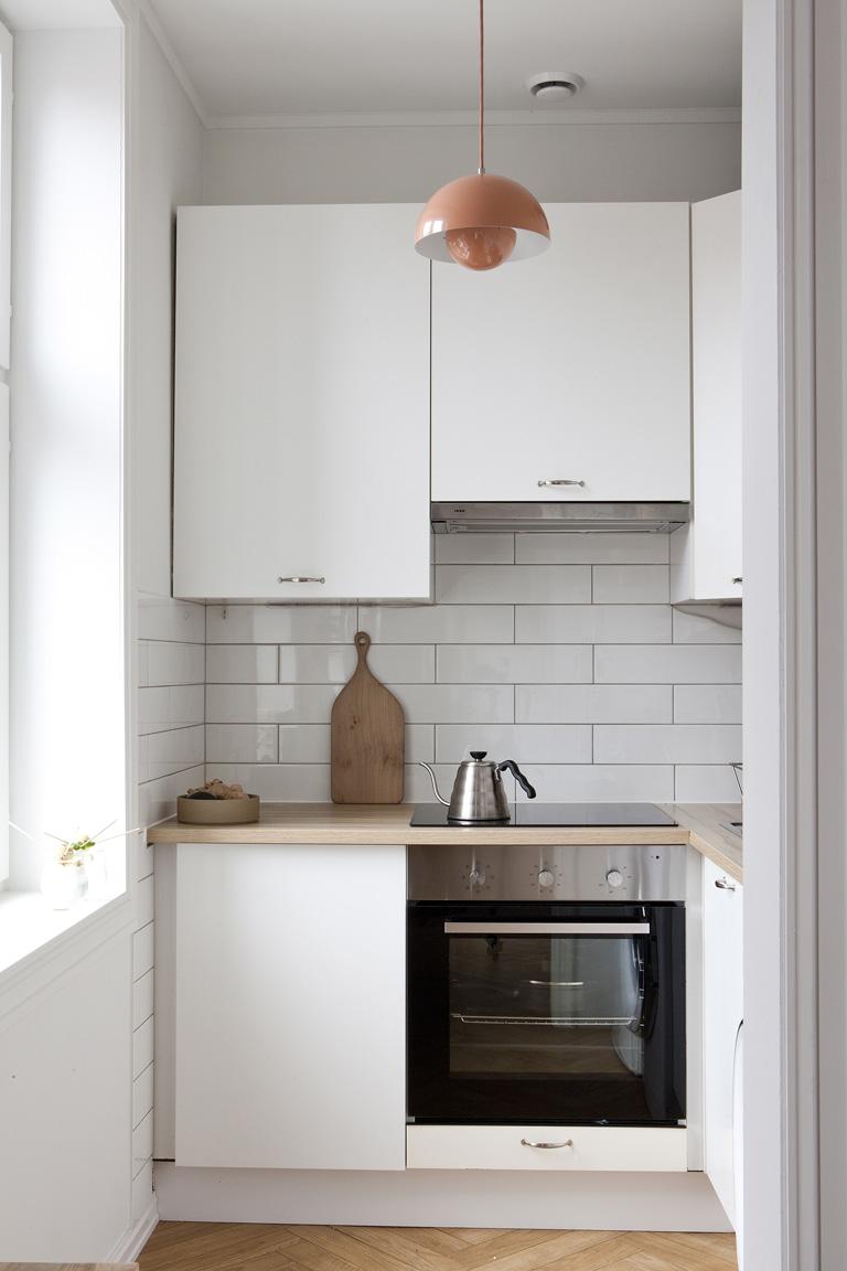 Kjøkken i hvitt