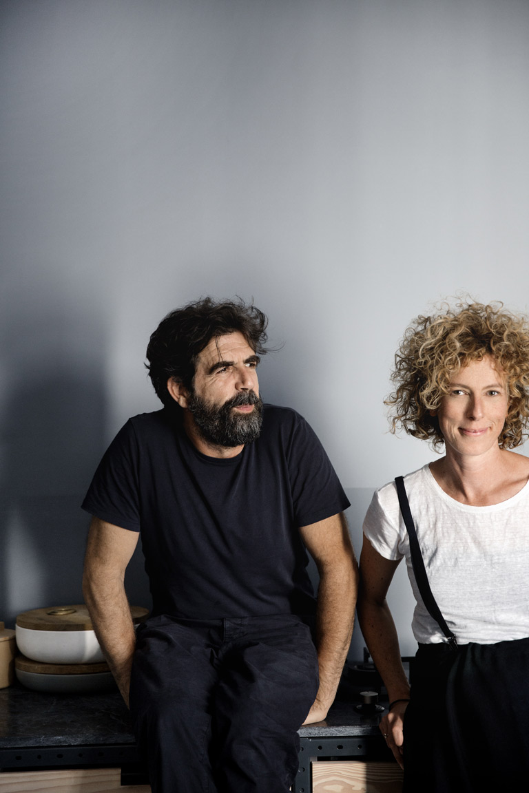 Jannicke Kråkvik og Alessandro D'Orazzio