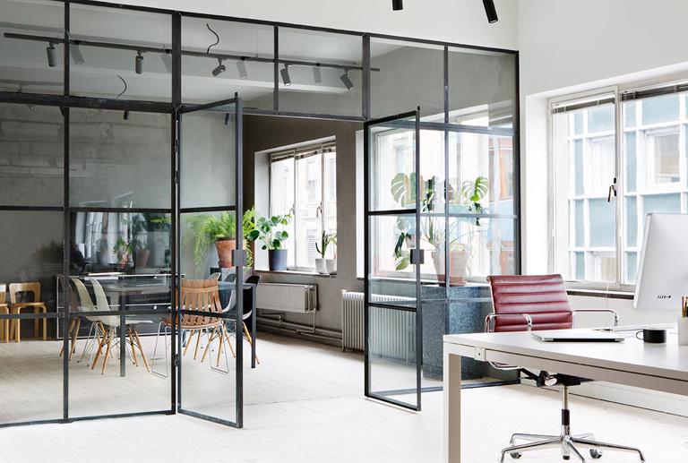 Stilfullt kontor med sjel