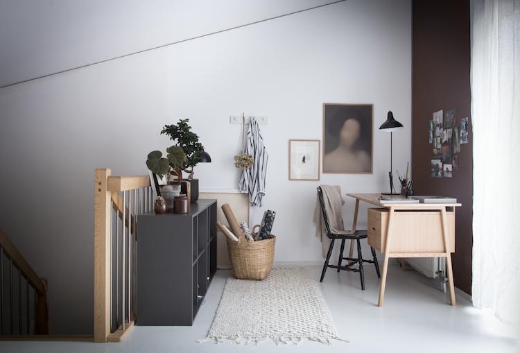 Nytt Nytt hjemmekontor i brune toner - Lady Inspirationsblogg JE-81