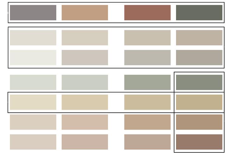LADY fargekart 2019