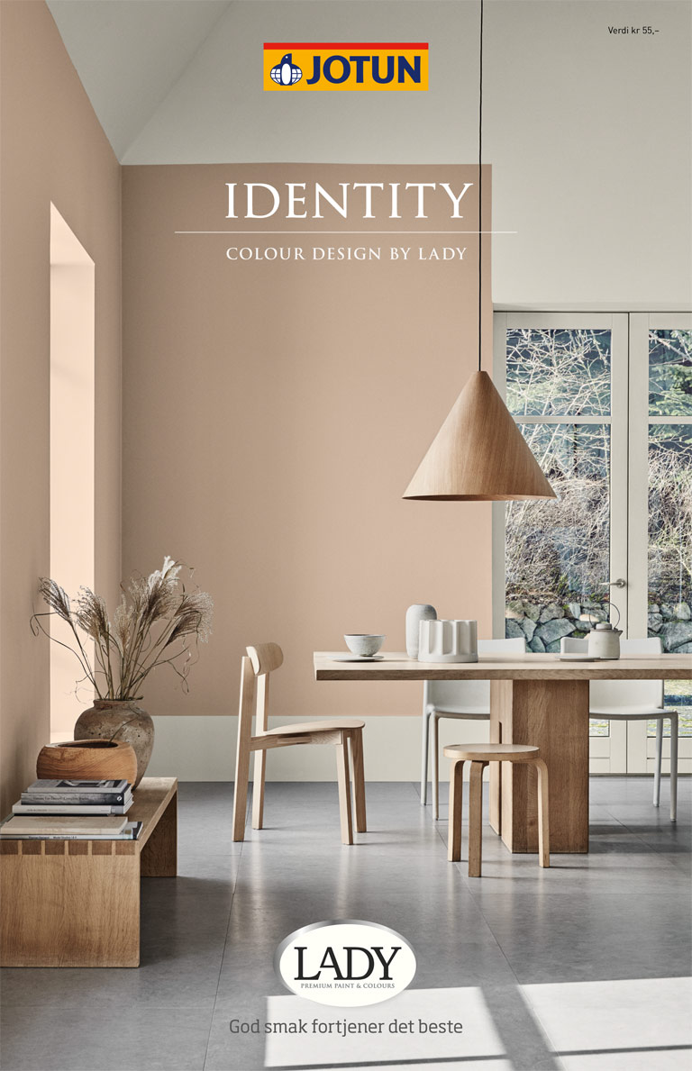 LADY Indentity fargekart – styling av bilder