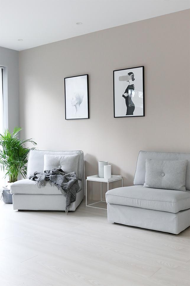 Nytt hus med personlige farger
