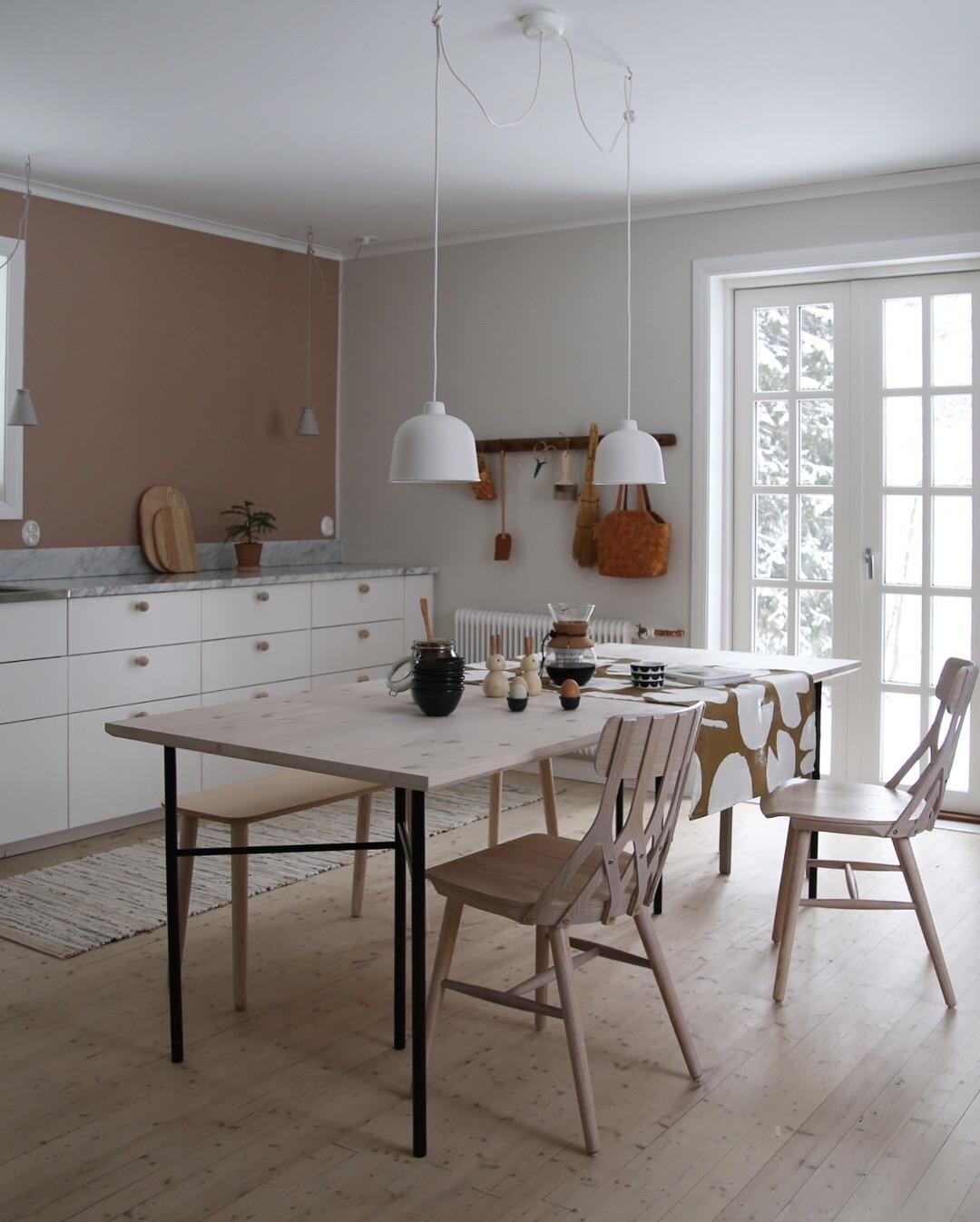 Ett kjøkken – i ulike farger