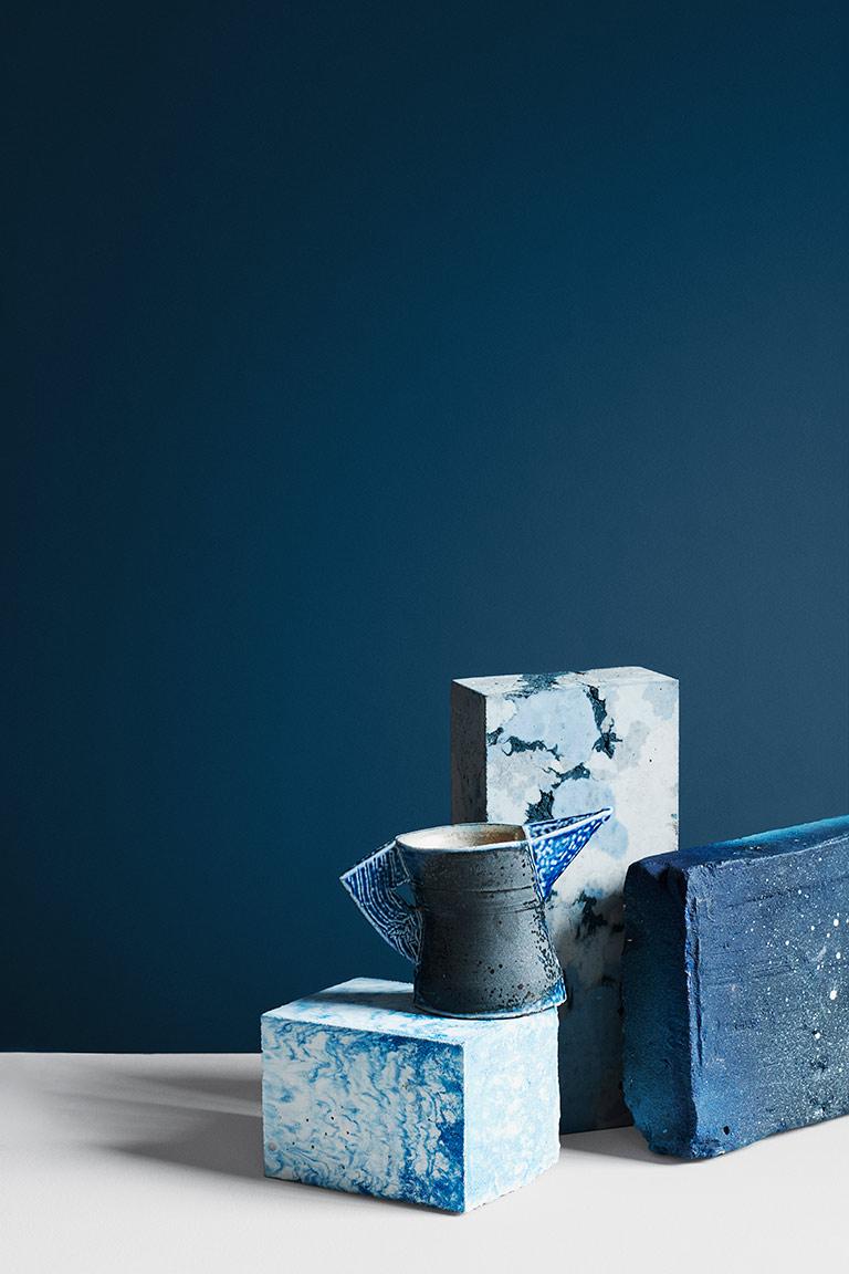 Statement Blue + Klassisk Hvit