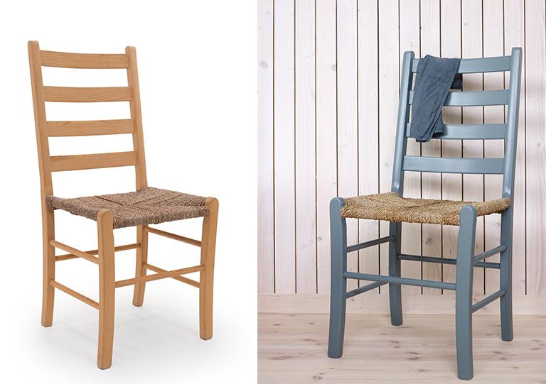 Axel jærstol - før og etter