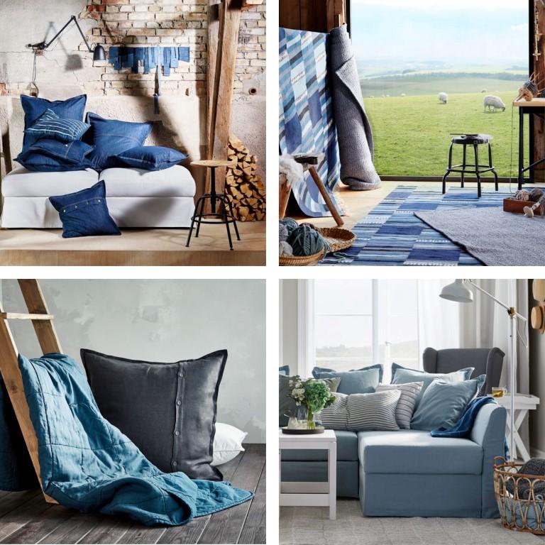 IKEA blå hyttepalett
