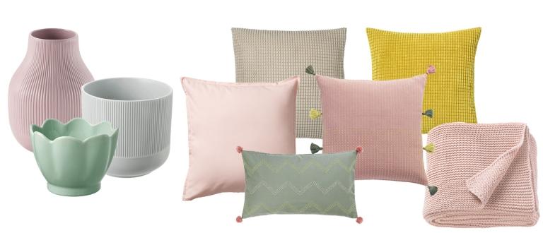 IKEA rosa hyttepalett